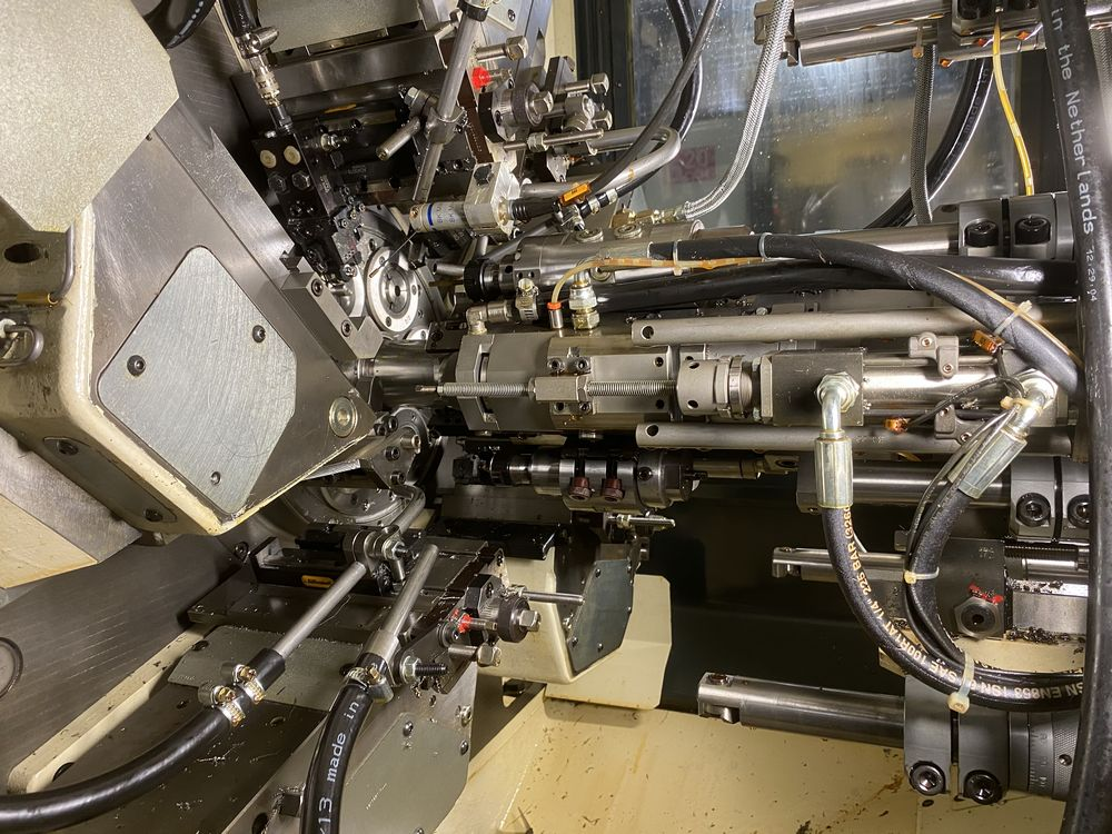 ZPS Mori-Say 620AC 6 Spindle Super Precision Automatic Bar (screw Machine) New 2012 Installed New 20 - Image 20 of 22