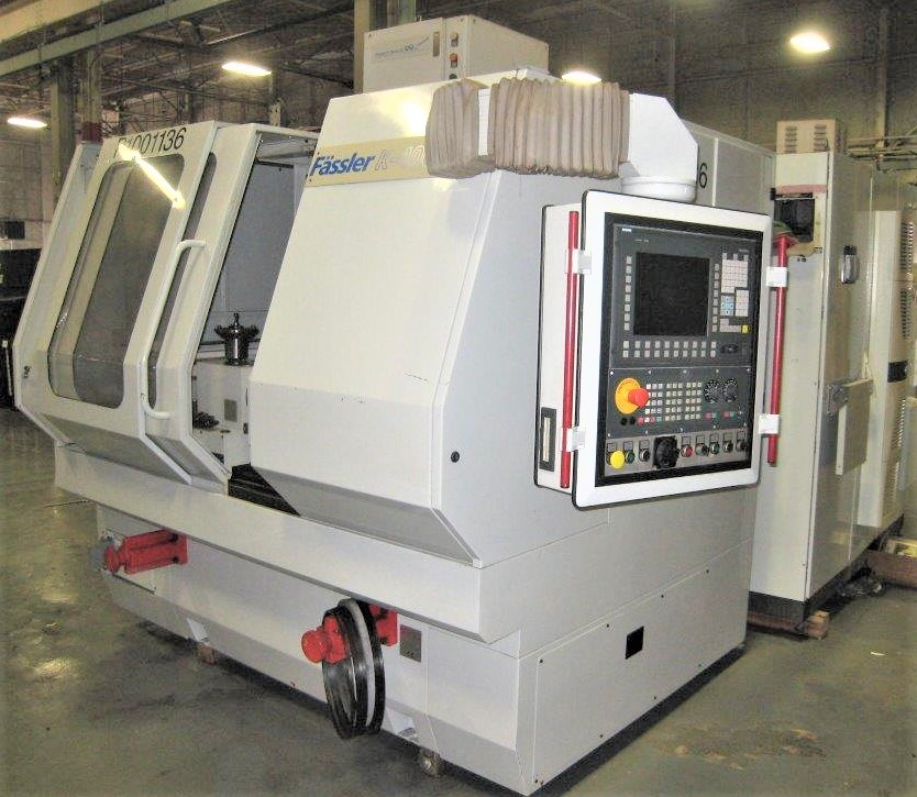 MODEL #K400D FASSLER CNC GEAR HONE SERIAL NO. 470 (2006) 46 HOURS ONLY - Image 6 of 32