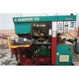 Koepfer Model 173PC-M Gear Hobber w/Auto Loading, S/N 173115