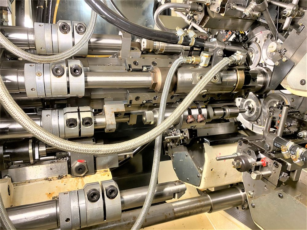ZPS Mori-Say 620AC 6 Spindle Super Precision Automatic Bar (screw Machine) New 2012 Installed New 20 - Image 14 of 22