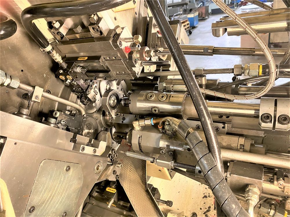 ZPS Mori-Say 620AC 6 Spindle Super Precision Automatic Bar (screw Machine) New 2012 Installed New 20 - Image 10 of 22
