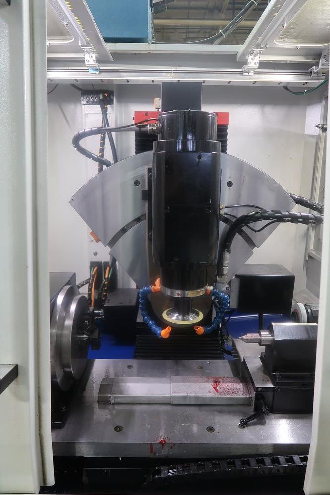 Koepfer KFS-100.5 CNC Hobb Sharpening Grinder, New 2019, S/N (approx. 100 Hours use) - Image 3 of 11