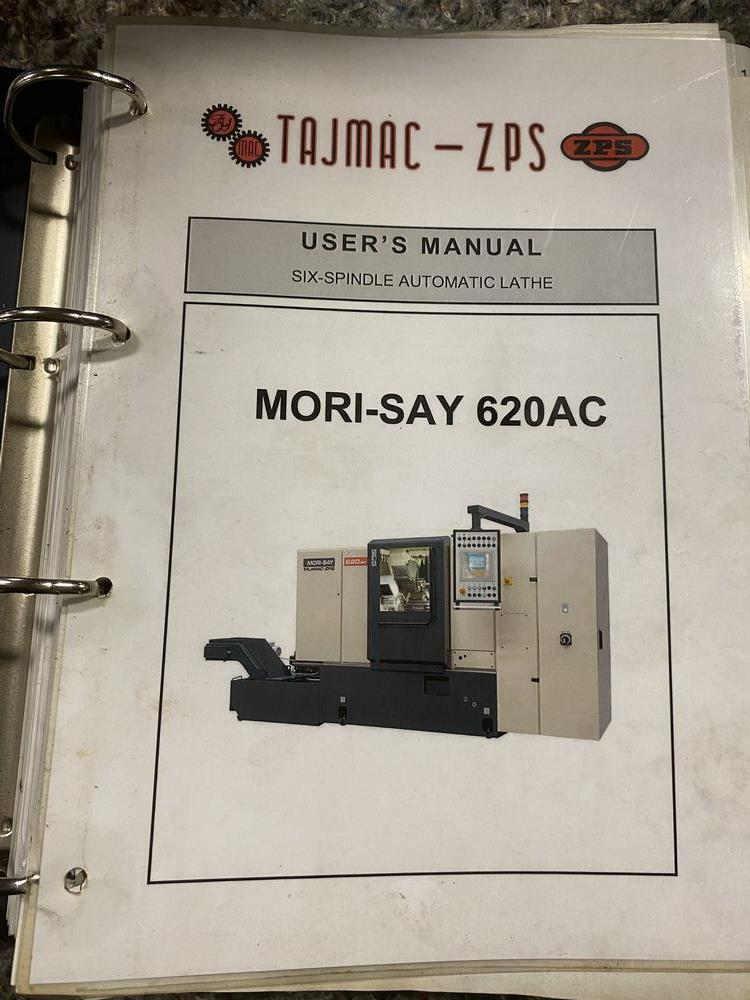 ZPS Mori-Say 620AC 6 Spindle Super Precision Automatic Bar (screw Machine) New 2012 Installed New 20 - Image 15 of 22