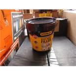 6x 1.2KG tubs of Stanley Multi Purpose ready Mixed Interor and Exterior filler, new