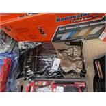 2x Polyco - Jet Black Heavy duty Rubber Gloves - Packaged.