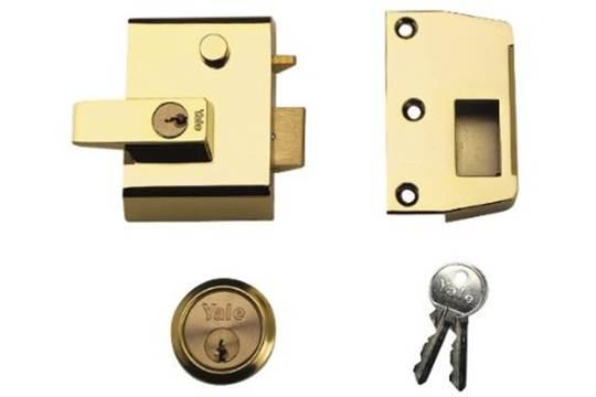 STERLING BATHROOM LOCK BRS X 64MM