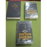 Three Hardback Volumes of The Patton Papers, by Martin Blumenson published by Houghton Mifflin