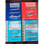 Four Hardback Books MacDonalds, PBS, Fighter Squadrons of the RAF and Their Aircraft, 1969 and