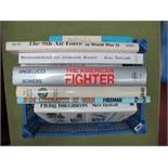 A Collection of Eight Books All United States Air Force Themes, (both hardback and paperback)