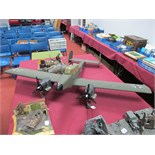 A Large Scale Radio Controlled Model, of a German World War II Dornier type aircraft, wooden