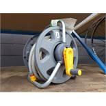 4087 Hose lock hose reel and hose