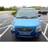 KM53 RHQ (2003) Suzuki Wagon R, petrol in blue MOT: 13/1/2021