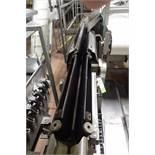 Easy speedy v-trough belt conveyor, 90 in. long, SS frame, motor and drive ** Rigging Fee: $200 **
