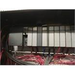 Contents only of control cabinet: (4) Allen Bradley VFD's, (1) Allen Bradley SLC 5/04 PLC