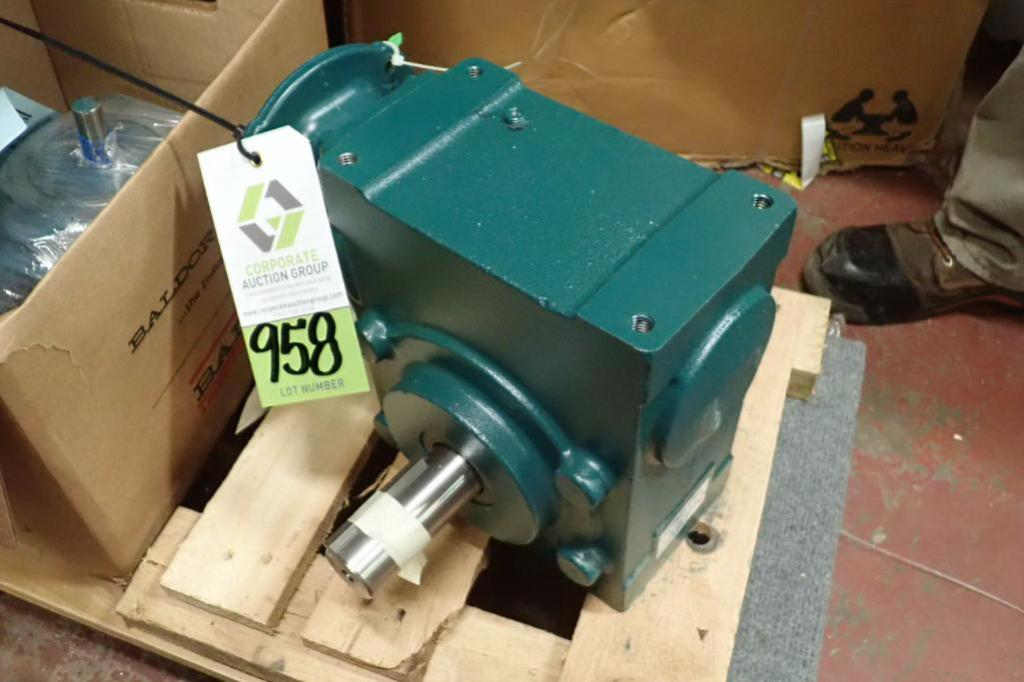 Lot 958 - (2) unused gear reducers ** Rigging Fee: $10 **
