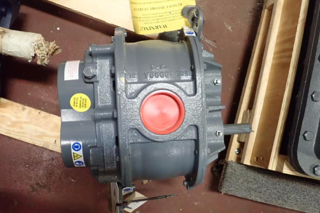 Lot 954 - Unused Howden rotary lobe blower, part number 6510-90-2L, Model 45URAT-L ** Rigging Fee: $10 **