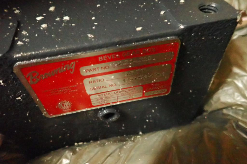 Lot 978 - Rebuilt magnum tape heads, gear reducers, bearing racks ** Rigging Fee: $25 **