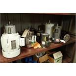 (10) assorted electric motors, 0.5 hp to 3 hp ** Rigging Fee: $25 **