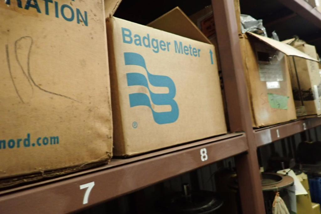 Lot 976 - Regenerative blower, Badger meter flange ** Rigging Fee: $25 **