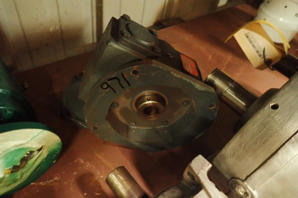 Lot 971 - (7) assorted gear reducers and motors ** Rigging Fee: $25 **