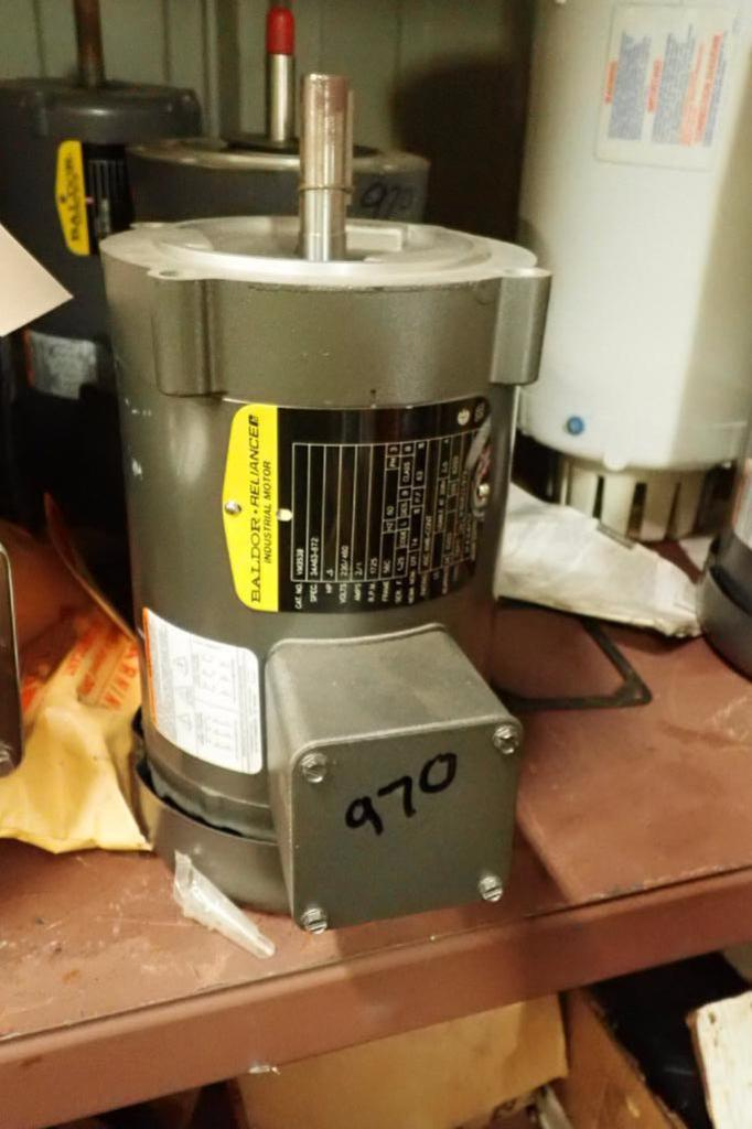 Lot 970 - (10) assorted electric motors, 0.5 hp to 3 hp ** Rigging Fee: $25 **