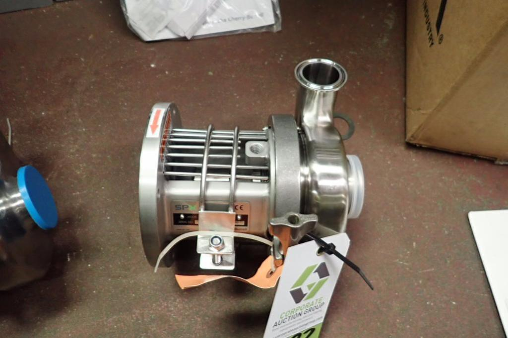 Lot 982 - SPX SS centrifugal pump head, Model C114, 1.5 in. x 2 in ** Rigging Fee: $10 **