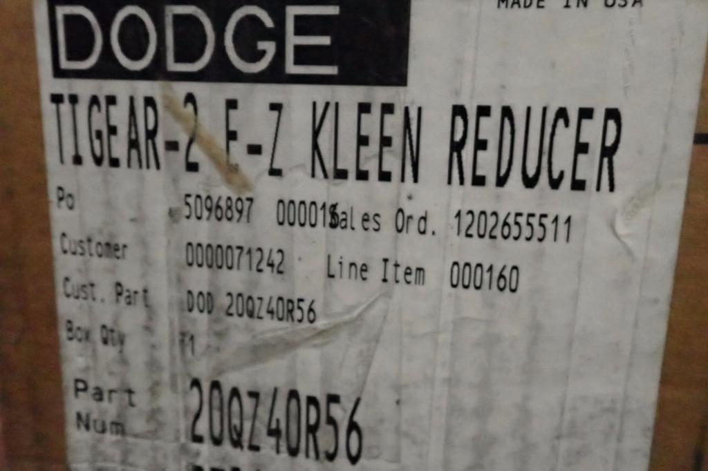 Lot 968 - Unused Dodge gear reducers ** Rigging Fee: $25 **