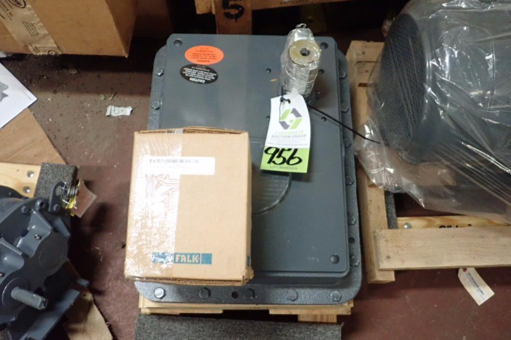 Lot 956 - Unused Falk quadrive gear reducer, Model 5307J25-A, Ration 25.26 ** Rigging Fee: $10 **