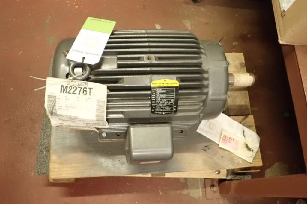 Lot 963 - Baldor 7.5 hp motor, 3 ph., Frame 254T, 1160 rpm ** Rigging Fee: $10 **