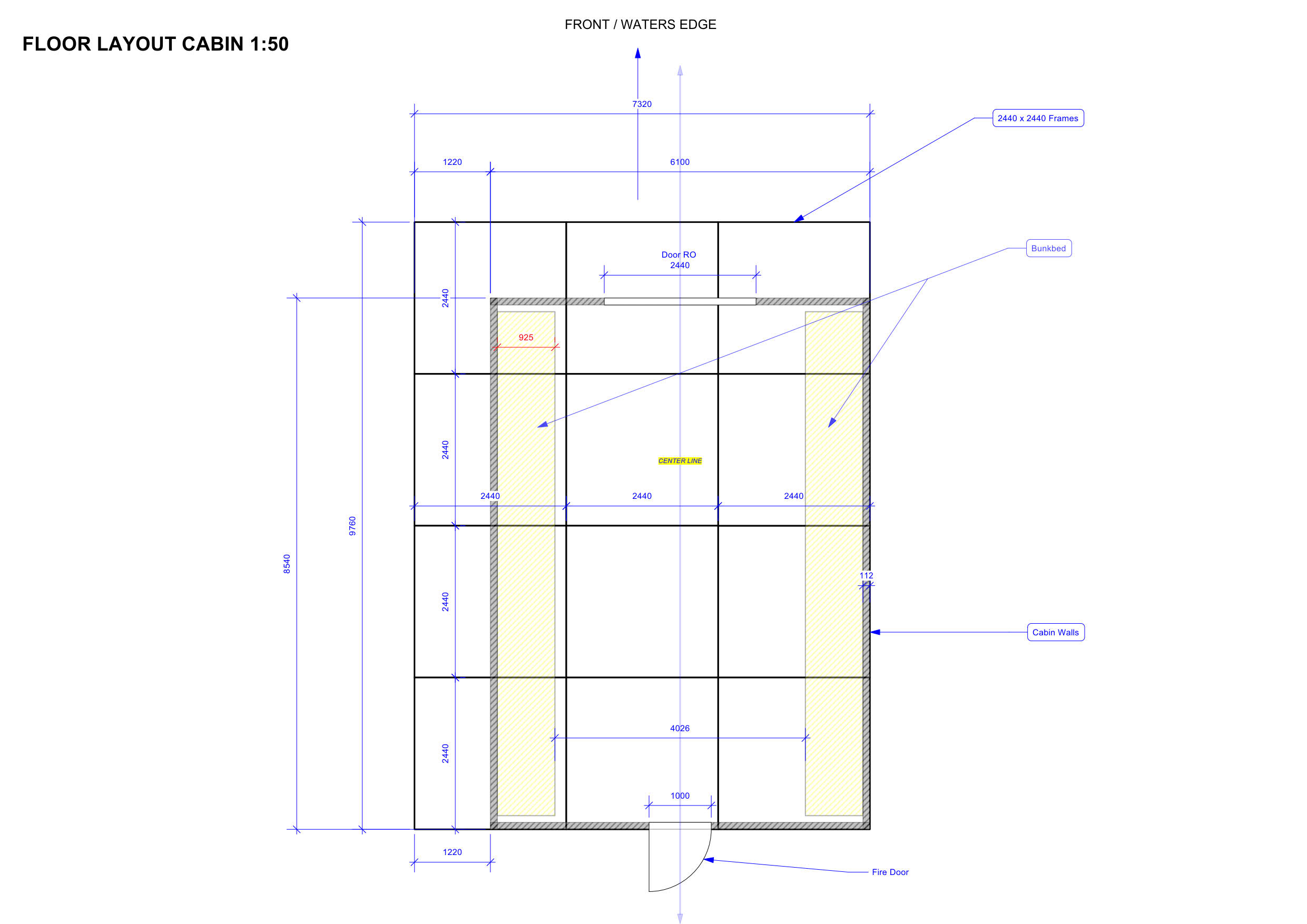 SINGLE SPAN TIMBER BUILDING/ CABIN, forming accommodation area, internal dimensions approx. 8.4m x - Image 28 of 31