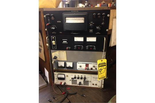 POWERTRON 250S INDUSTRIAL TEST EQUIPMENT, MODEL VFO-10