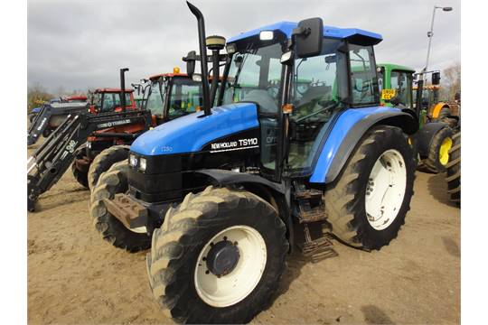 2001 New Holland TS110 4wd Tractor  Y Reg