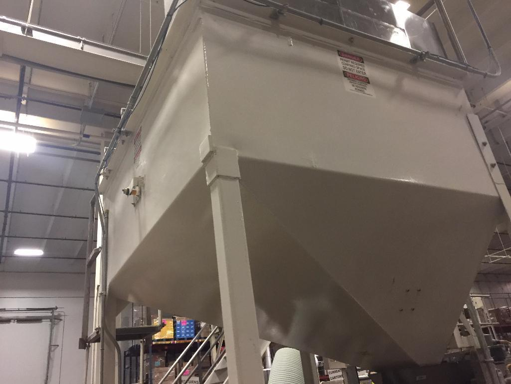 Lot 125 - Mild steel use bin. (Located in Kenosha, WI)