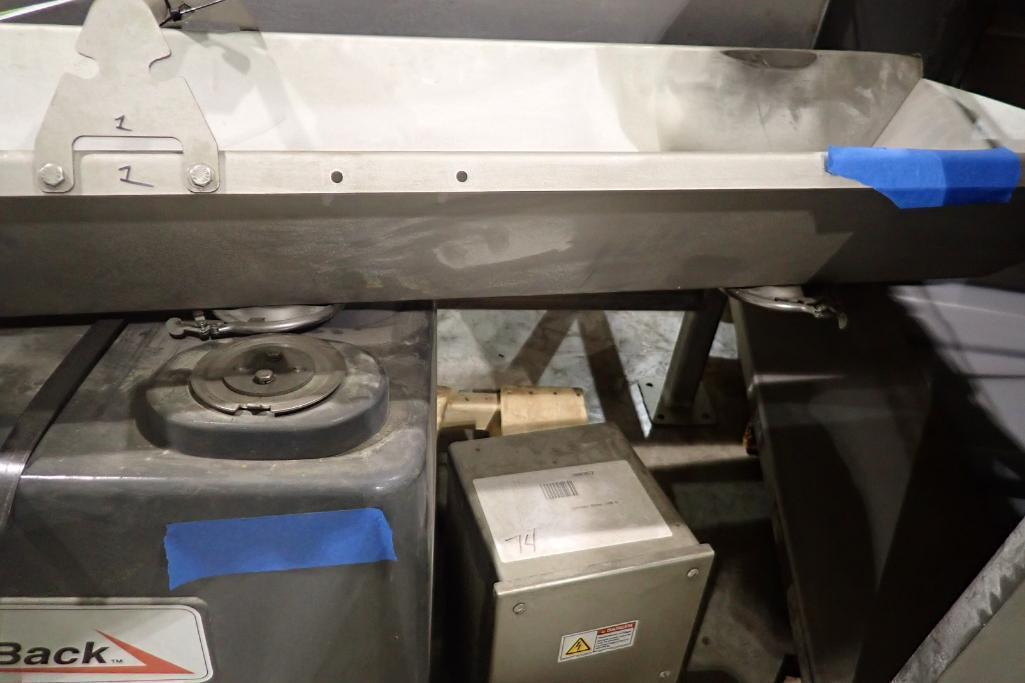 Lot 139 - Fast back vibratory conveyor. (Located in Kenosha, WI)