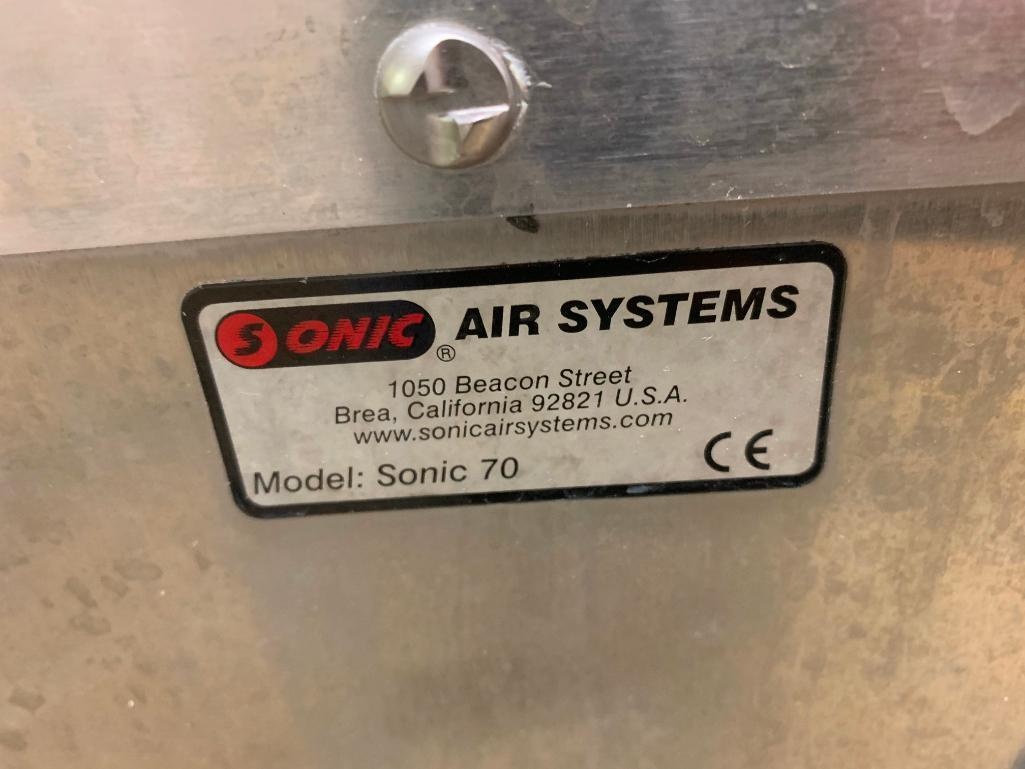 Lot 80 - Sonic Air Systems blower. (Located in Manawa, WI)