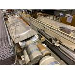 Assorted mild steel belt conveyor sections. (Located in Kenosha, WI)