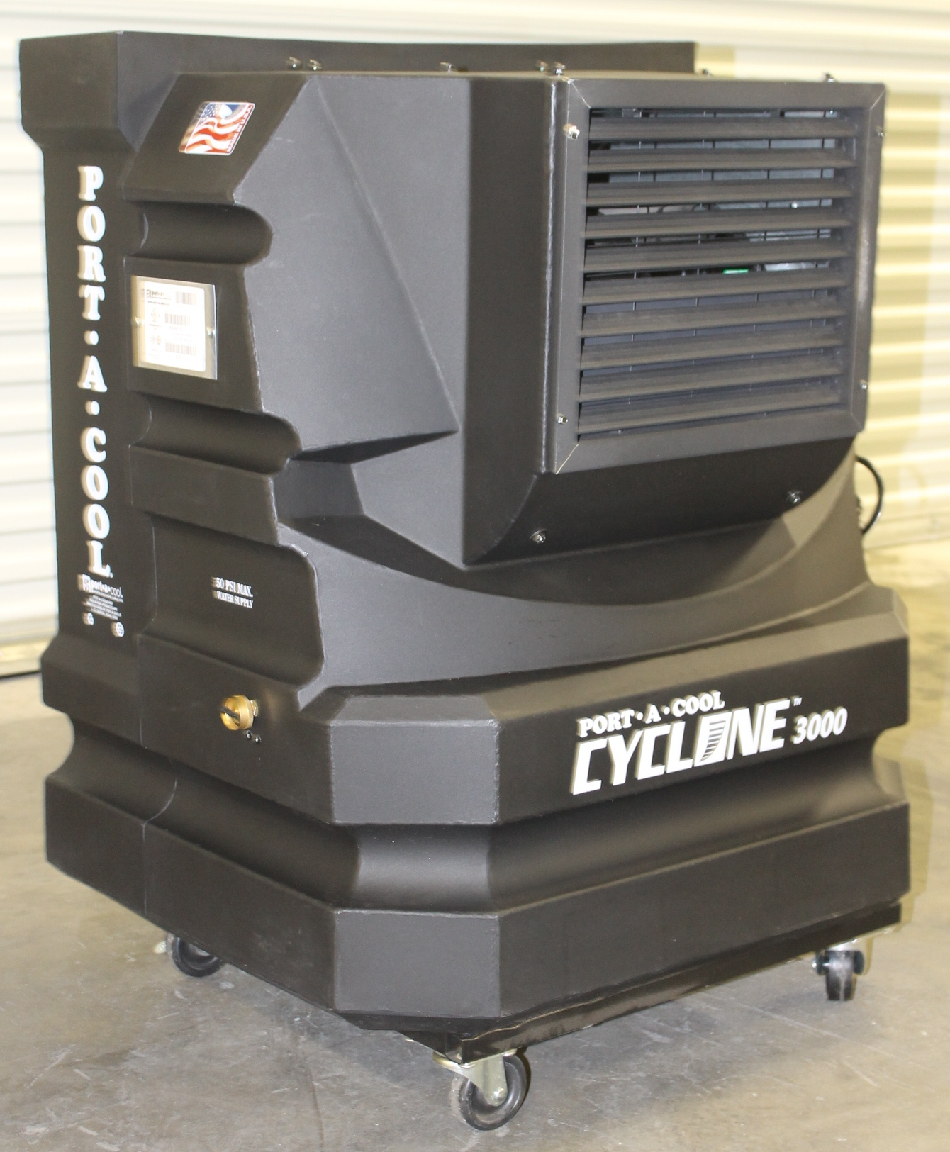 EVAPORATIVE COOLING UNIT MODEL: PAC2KCYC01 WITH 18 GALLON WATER #958136