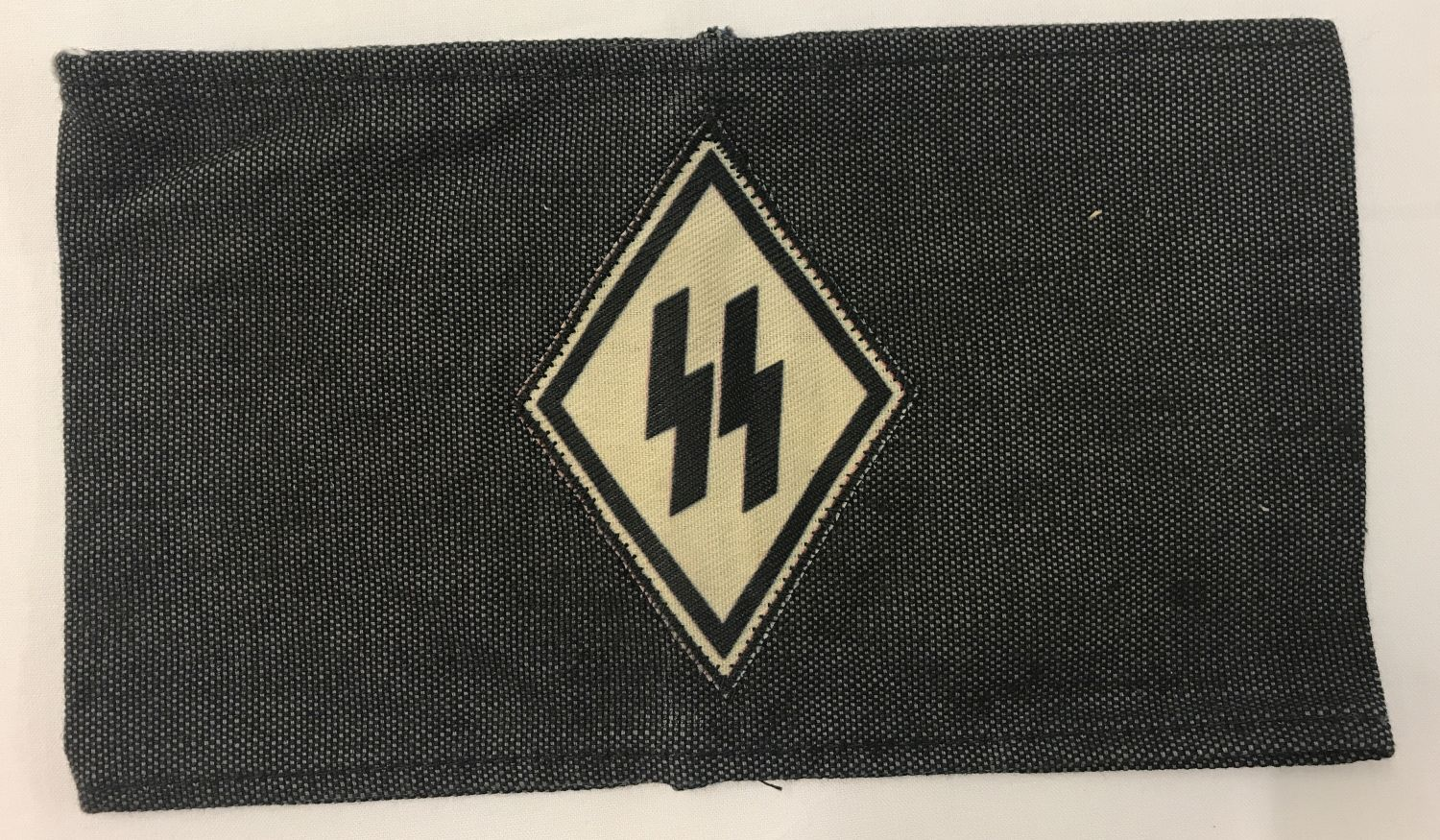 A copy of a German WWII SS VT funeral mourner's armband.