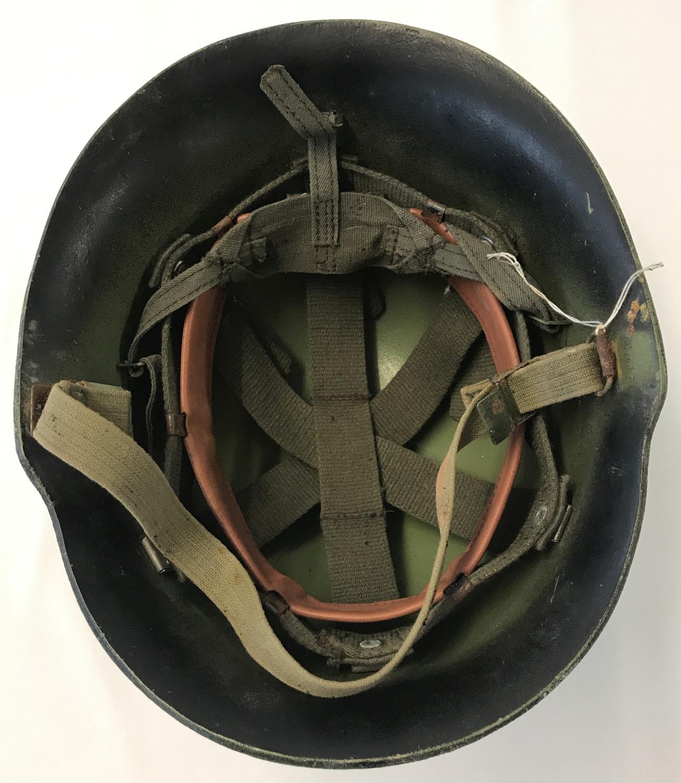 A Yugoslav Kevlar helmet, circa 1980's. - Image 2 of 2