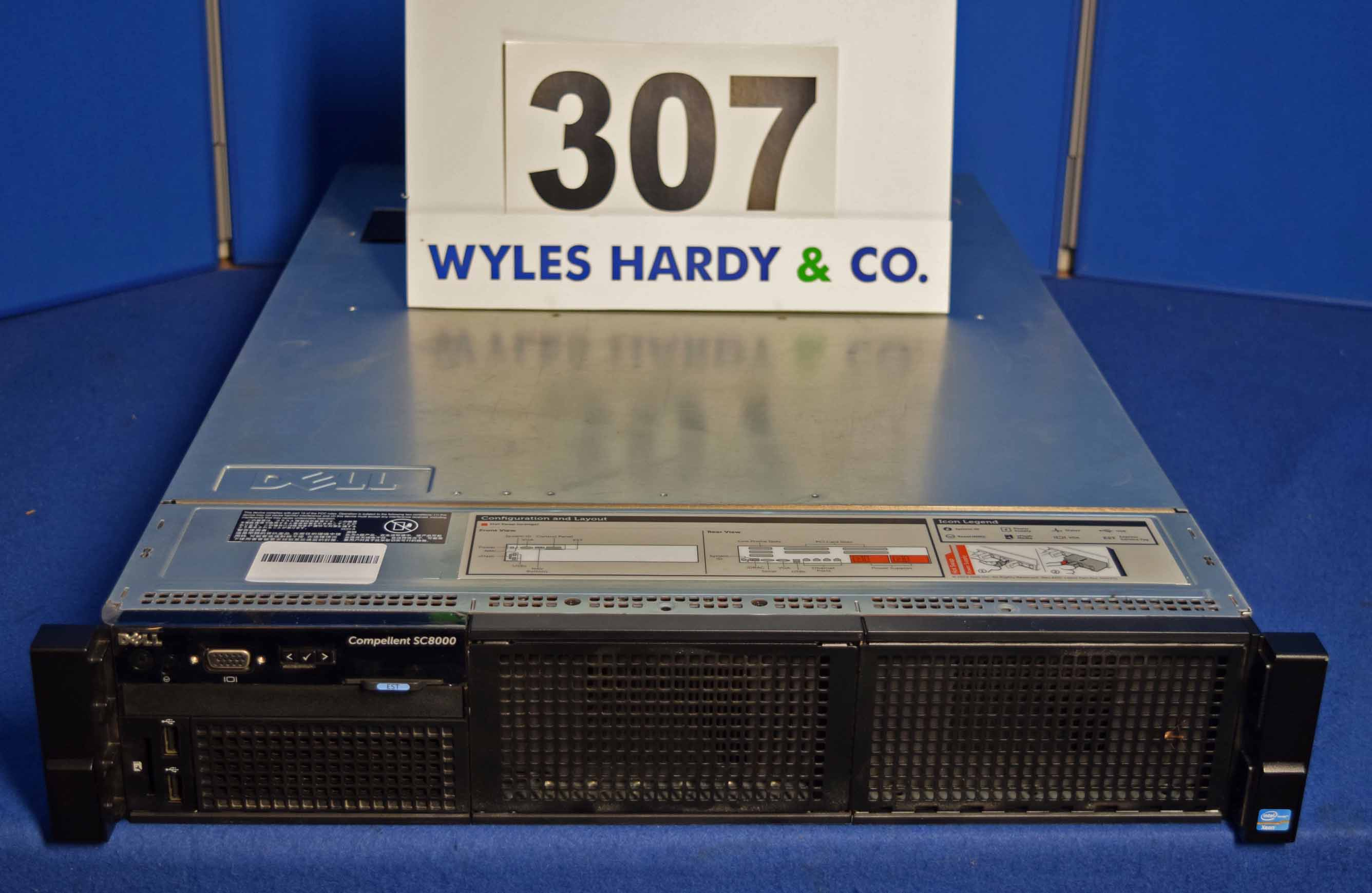 A DELL Compellent SC8000 Storage Centre Controller