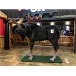 "MOOSE (STUFFED- LARGE ITEM) - L 100"" W 72"" H 88"""
