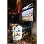 "BIG BUCK HUNTER AMUSEMENT GAME- H- 84"" W-50"" D-50"""