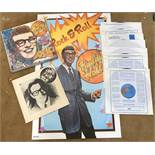 An LP boxset, Buddy Holly story with booklet and poster.