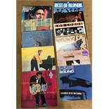 Collection of LP Records inc HiFi sounds stereo testing record, other LP's inc Los Lobos, Chuck