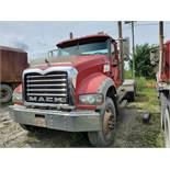 2009 MACK GU713 T/A DAY CAB TRACTOR, MAXITORQUE 18 SPEED TRANS., WET LINES MACK INLINE SIX DIESEL
