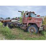MACK T/A DAY CAB TRACTOR, VIN DM6855X36404, CT 78, LOCATION: MARCO SHOP