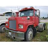 MACK DM686 SX T/A DAY CAB TRACTOR, VIN 1M2B128C4DA009151, CT 81, LOCATION: MARCO SHOP