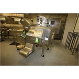 Urschel Diversa Cut 2110 Dicer, Model DC, S/N 174 with S/S Clad Motor, Controls, Mounted on S/S