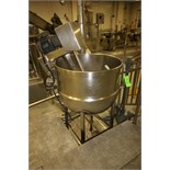 J. C. Pardo & Sons 100 Gal. S/S Kettle, S/N 8103, 100 psi @ 338 Degrees and 100 psi @ - 20 Degrees