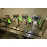 """Weigh-Tronix Digital Scales, Model QC-3265, S/N 025969, S/N 030291 and S/N 023673 with 13-1/2"""" x 12"""""""